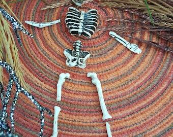 Miniature Skeleton - 9 pc