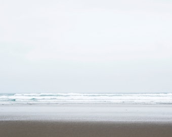 Horizon | Pacific Ocean | Ocean Art Photography | Minimal Wall Decor | Coastal Print