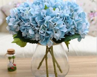 Blue hydrangea etsy mightylinksfo