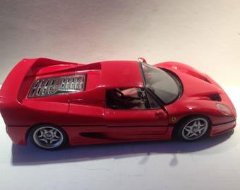 """Model car, """"Ferrari F 50""""."""