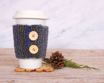 Covers travel mug 2 buttons / coffee cozy