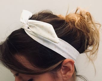 Tie headband / women / Vintage