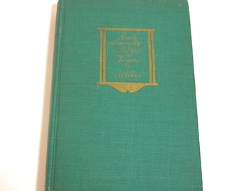 Early American Inns And Taverns By Elise Lathrop, Vintage Book