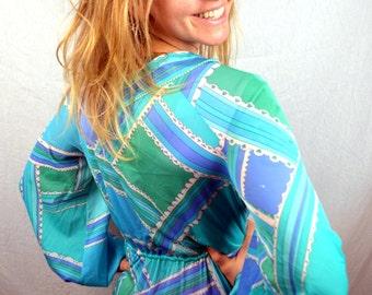 Vintage Psychedelic 1960s Pucci Designer Slip EPFR Lingerie Dress - Emilio Pucci for Formfit Rogers