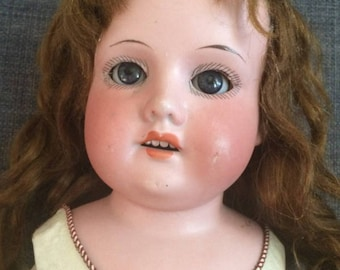 "Armand Marseille Doll, 370, 18"", Sleepy Eyes! 1800's or early 1900's Bisque Head, Kidline Body*** FREE SHIPPING***"