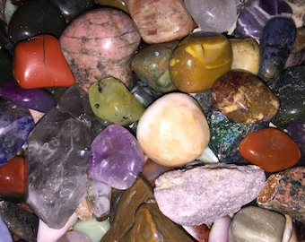 3 Reiki Infused Healing Crystals for Creativity- intuitively chosen for you!