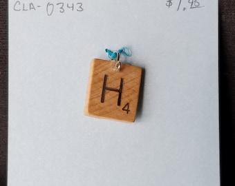 Scrabble pendant
