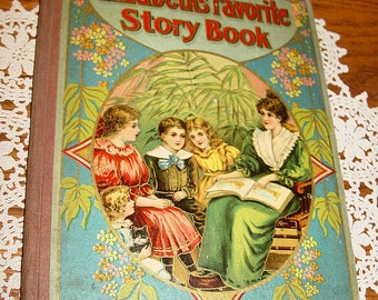 Elizabeth's Favorite Story Book Hurst & Co. ~ Antique Victorian era children's book