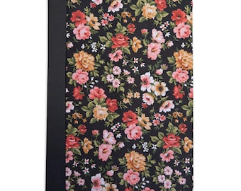 Black Floral Pattern Folio Case For The iPad Mini 1,2,3 and 4