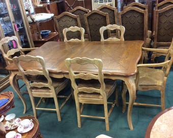 Beautiful French Dining Table And Chairs   San Mateo