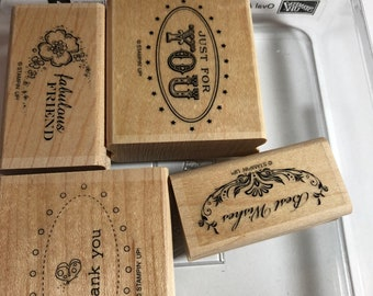 """Stampin Up """"Oval All"""" Set"""