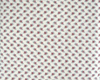 Petite Flower Quilt Fabric by Joan Kessler, for Concord Fabrics, 100 Percent Cotton, Fabric by the Yard