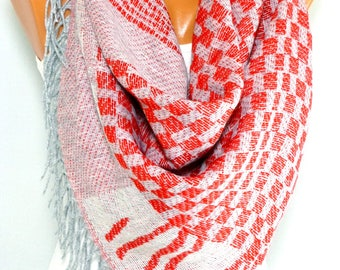 Scarf, Shawl, Scarves, Fall Scarf, Winter Scarf, Christmas scarf, Womens Fashion Accessories, Gift for Christmas, for her, for Mothers day