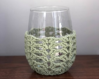 Wineglass Cozy - Green