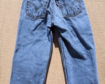 4T Vintage High Waisted Levi's Jeans