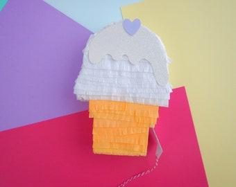 18 Inch Ice Cream Pinata, Ice Cream Party, Summer Party, Ice cream Theme, Ice cream Birthday,