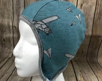 12/18m aviator hat