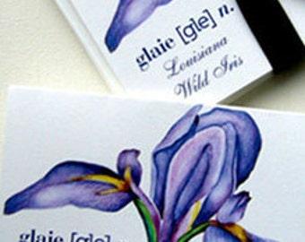 Wild Iris Notecard