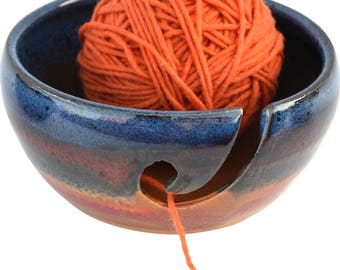 Azulscape Yarn Bowl