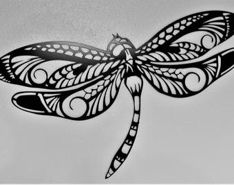 Dragonfly metal wall, garden, patio art, metal art.