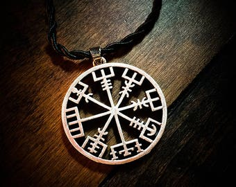 Vegvisir Amulet ~ Carried For Protection - Witchcraft ~ Sigils ~ Runes ~ Pagan ~ Paganism ~ Pagans ~ Altar ~ Fetish ~ Totem