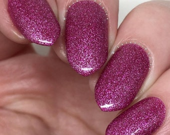 Lava Crystals by Lucky Lacquer, 5-Toxin Free Nail Polish