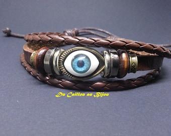Bracelet mixed ethnic 3rd eye