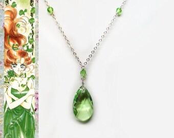 Sailor Jupiter Ball Gown Inspired Necklace - Swarovski Crystal