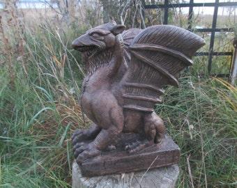Serpent Dragon Statue