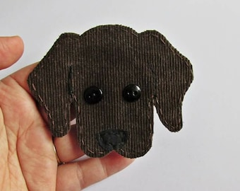 Labrador Retriever Applique, Labrador Patch, Dog Applique, Dog, Lab Dog Embellishment,Fabric Dog Applique,Yellow Lab,Lab Puppy,Made To Order