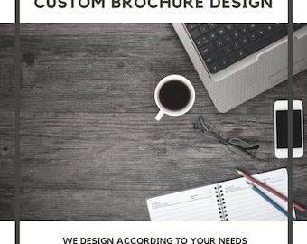 Custom Brochure Design | Graphic Design | Brochure | Brochure Design | Brochure Template | Trifold Brochure | Business brochure