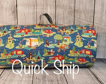 Camping Friends/Personalized/Kinder Nap Mat/Preschool Nap Mat/ Sleep Sack/Quick Ship