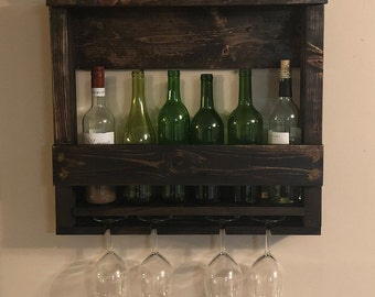 The Nina Wine Rack with Shelf