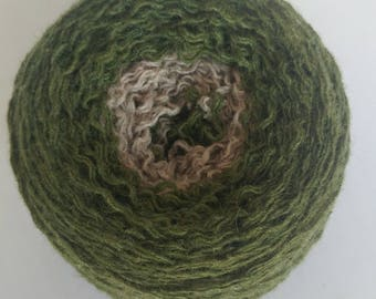 Reclaimed Wool gray green Yarn