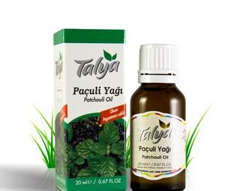 Patchouli Oil 0.68 oz (20 ml) -Steam-Distilled Essential Oil