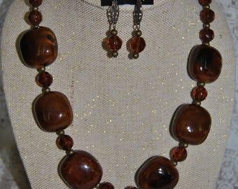 Holy Halo Crucifix Necklace Set