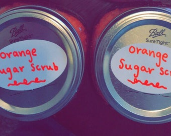 Orange Sugar Scrub