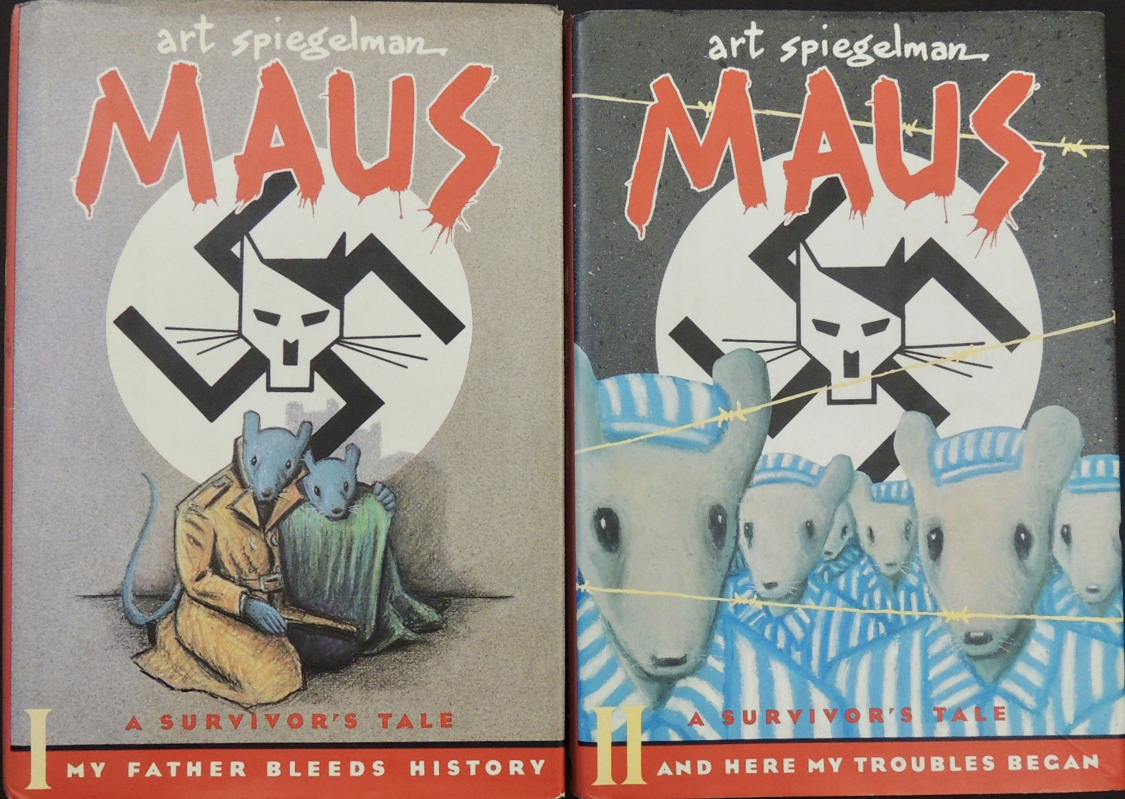 racism in art spiegelmans maus essay Influential artist and graphic novelist he was born february 15, 1948 in stockholm, sweden his parents were polish jews who survived the death camps of the holocaust, so after a few years the family migrated to america soon after in 1957.