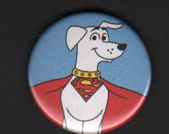 Krypto the Superdog 1.75in button