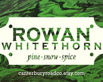 Rowan Whitethorn | Soy Candle | Throne of Glass | High Fae | Book Merch | Book Lover Gift | Celaena | Bookish Gift | Canterbury Road Co