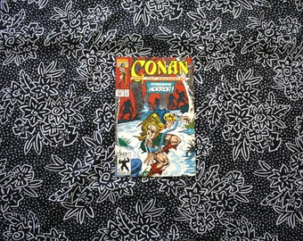Conan The Barbarian #254 Vintage Marvel Comic Book. 1992 Barbarian Fantasy Modern Age Comic. 90s Conan Barbarian Comic