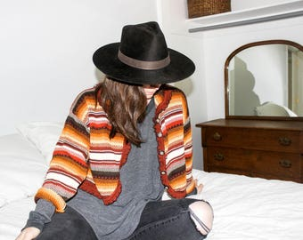 Vintage 70's Knit Cardigan