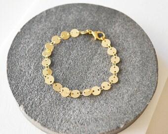 Gold Bracelet, Stacking Bracelet, Bracelets, Dainty Gold Bracelet, Dainty Bracelet, Gold Bracelets, Simple Jewelry, Everyday Jewelry.