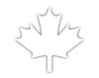 Maple Leaf decal
