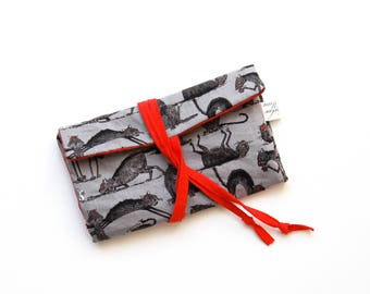 tabacco pouch fabric tabacco accessory bag fabric cats