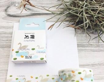 Duck Pond Washi Tape • Planner Supplies
