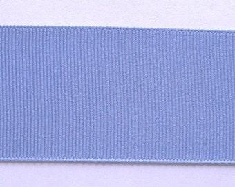 """Grosgrain Ribbon Bluebird Blue -15 yds 7/8"""" wide or 22 yds 5/8"""" wide"""