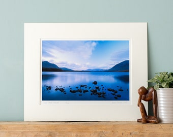Lough Inagh, Ireland - Fine Art Photography Print with Mount to fit a ready-made 24x30/30x40/40x50cm frame