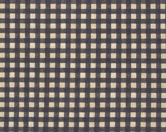 Windham fabric Northwoods Charcoal CHECK