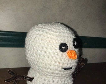 Hand Made Fefevoo Snow Man Doll